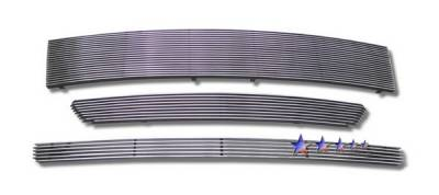 Grilles - Custom Fit Grilles - APS - Ford Edge APS Billet Grille - 3PC - Aluminum - F86625A