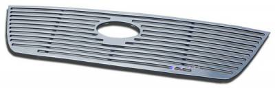 Grilles - Custom Fit Grilles - APS - Ford Explorer APS CNC Grille - Upper - Aluminum - F95340A