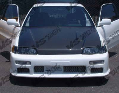 CRX - Hoods - VIS Racing - Honda CRX VIS Racing ZC Black Carbon Fiber Hood - 88HDCRXHBZC-010C