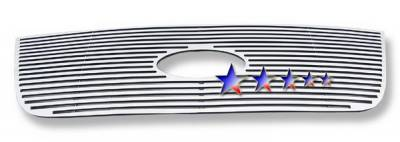 Grilles - Custom Fit Grilles - APS - Ford Expedition APS CNC Grille - Upper - Aluminum - F95372A