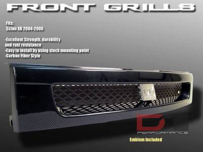 Grilles - Custom Fit Grilles - Custom - Carbon Fiber Grille