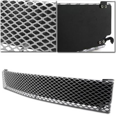 Grilles - Custom Fit Grilles - Custom - Chrome Mesh Grille