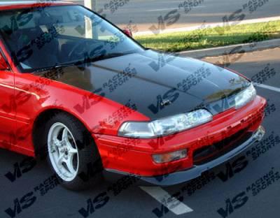 Integra 2Dr - Hoods - VIS Racing - Acura Integra VIS Racing OEM Black Carbon Fiber Hood - 90ACINT2DOE-010C