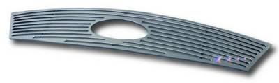 Grilles - Custom Fit Grilles - APS - Ford 500 APS CNC Grille - with Logo Opening - Upper - Aluminum - F95750A