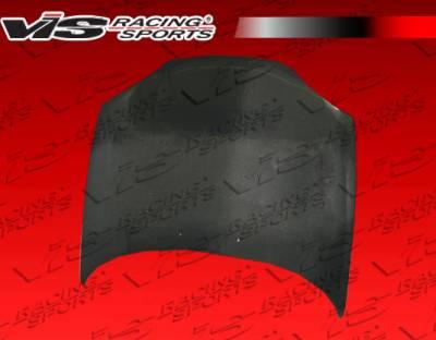 MX3 - Hoods - VIS Racing - Mazda MX3 VIS Racing OEM Black Carbon Fiber Hood - 90MZMX32DOE-010C