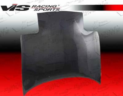Miata - Hoods - VIS Racing - Mazda Miata VIS Racing OEM Black Carbon Fiber Hood - 90MZMX52DOE-010C