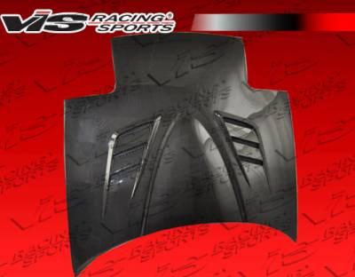 Miata - Hoods - VIS Racing - Mazda Miata VIS Racing V Speed Black Carbon Fiber Hood - 90MZMX52DVSP-010C