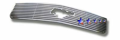 Grilles - Custom Fit Grilles - APS - Ford Mustang APS CNC Grille - Upper - Aluminum - F96012A