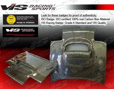 Celica - Hoods - VIS Racing - Toyota Celica VIS Racing CS Black Carbon Fiber Hood - 90TYCEL2DCS-010C