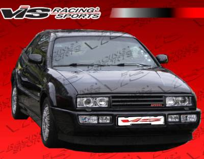 Corrado - Hoods - VIS Racing - Volkswagen Corrado VIS Racing OEM Black Carbon Fiber Hood - 90VWCOR2DOE-010C