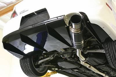 Lancer - Rear Add On - APR - Mitsubishi Lancer APR Rear Diffuser - FAB-485019