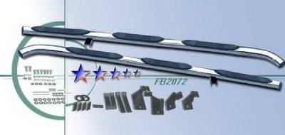 Suv Truck Accessories - Running Boards - APS - Ford F150 APS Side Step Nerf Bars - FB2072