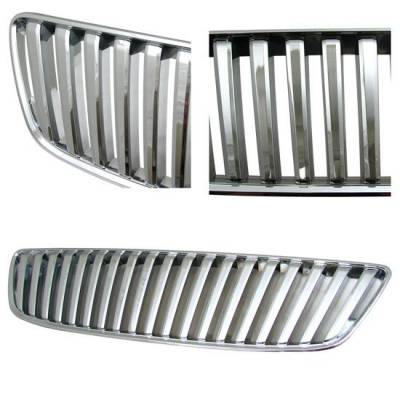 Grilles - Custom Fit Grilles - Custom - Chrome G3 Grille 98-05 GS