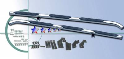 Suv Truck Accessories - Running Boards - APS - Ford F150 APS Side Step Nerf Bars - FB2147