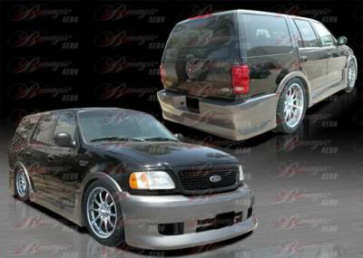 Expedition - Body Kits - AIT Racing - Ford Expedition AIT Racing Presidente Style Body Kit - FE97BMPRECK