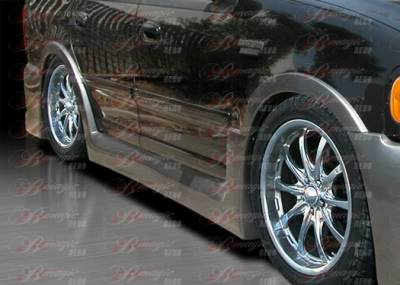 Expedition - Side Skirts - AIT Racing - Ford Expedition BMagic Presidente Series Side Skirts - FE97BMPRESS