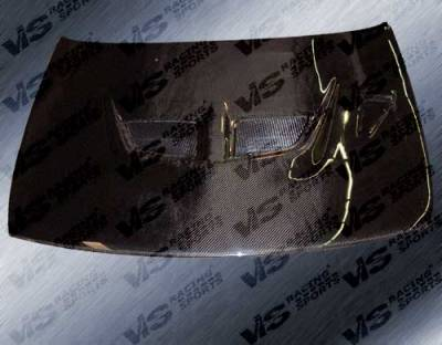 Altima - Hoods - VIS Racing - Nissan Altima VIS Racing EVO Black Carbon Fiber Hood - 93NSALT4DEV-010C