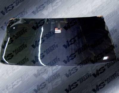 Altima - Hoods - VIS Racing - Nissan Altima VIS Racing OEM Black Carbon Fiber Hood - 93NSALT4DOE-010C