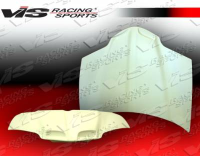 Firebird - Hoods - VIS Racing - Pontiac Firebird VIS Racing GTO Fiberglass Hood - 93PTFIR2DGTO-010