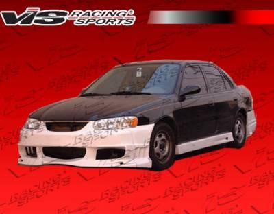 Corolla - Hoods - VIS Racing - Toyota Corolla VIS Racing OEM Black Carbon Fiber Hood - 93TYCOR4DOE-010C