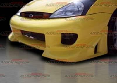 Focus 4Dr - Front Bumper - AIT Racing - Ford Focus AIT Racing BZ Style Front Bumper - FF00HIBZSFB
