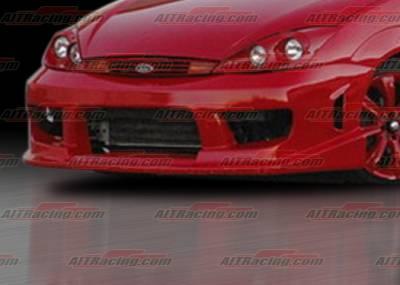 Focus 4Dr - Front Bumper - AIT Racing - Ford Focus AIT Racing Drifter Style Front Bumper - FF00HIDFSFB