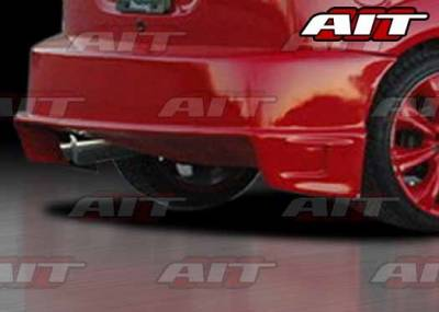 Focus ZX3 - Rear Bumper - AIT Racing - Ford Focus ZX3 AIT DFS Style Rear Bumper - FF00HIDFSRB3