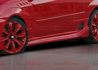 Focus ZX5 - Side Skirts - AIT Racing - Ford Focus AIT Racing Drifter Style Side Skirts - FF00HIDFSSS