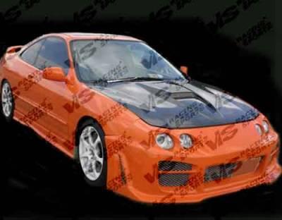 Integra 2Dr - Hoods - VIS Racing - Acura Integra VIS Racing G Force Black Carbon Fiber Hood - 94ACINT2DGF-010C
