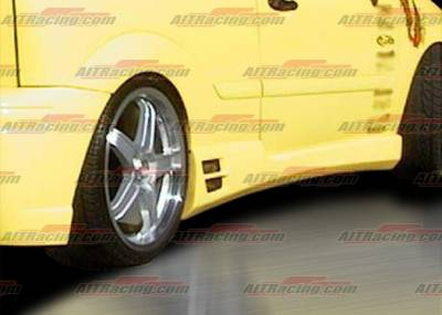 Focus ZX5 - Side Skirts - AIT Racing - Ford Focus AIT Racing Evo Style Side Skirts - FF00HIEVOSS