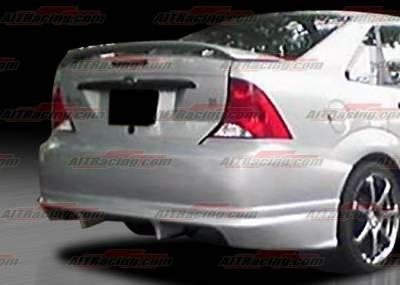 Focus 4Dr - Rear Bumper - AIT Racing - Ford Focus AIT Racing FLS Style Rear Bumper - FF00HIFLSRB4