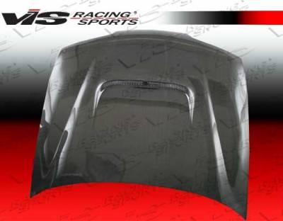Integra 2Dr - Hoods - VIS Racing - Acura Integra VIS Racing Techno R Black Carbon Fiber Hood - 94ACITR2DTNR-010C