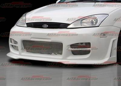 Focus Wagon - Front Bumper - AIT Racing - Ford Focus AIT Racing R34 Style Front Bumper - FF00HIR34FB3