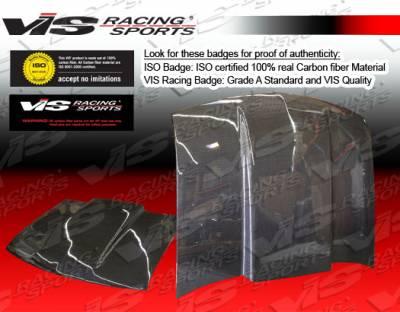 Blazer - Hoods - VIS Racing - Chevrolet Blazer VIS Racing Cowl Induction Black Carbon Fiber Hood - 94CHBLA2DCI-010C