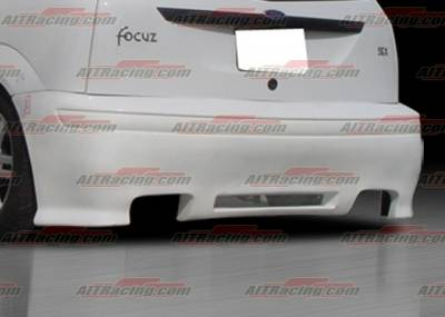 Focus 4Dr - Rear Bumper - AIT Racing - Ford Focus AIT Racing Revolution Style Rear Bumper - FF00HIREVRB