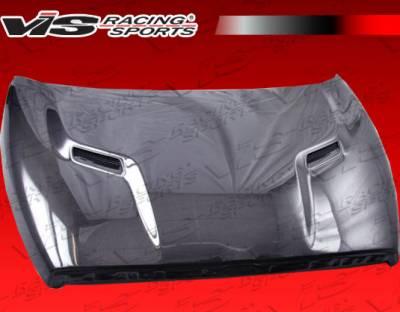 Ram - Hoods - VIS Racing - Dodge Ram VIS Racing SRT-2 Black Carbon Fiber Hood - 94DGRAM2DSRT2-010C