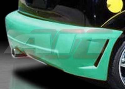 Focus ZX3 - Rear Bumper - AIT Racing - Ford Focus ZX3 AIT Zen Style Rear Bumper - FF00HIZENRB3