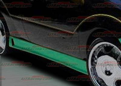Focus ZX5 - Side Skirts - AIT Racing - Ford Focus AIT Racing Zen Style Side Skirts - FF00HIZENSS
