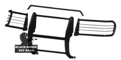 Grilles - Grille Guard - Black Horse - Ford Explorer Black Horse Modular Push Bar Guard
