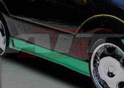 Focus ZX3 - Side Skirts - AIT Racing - Ford Focus ZX3 AIT Zen Style Side Skirts - FF00HIZENSS3