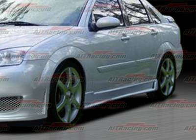 Escort - Side Skirts - AIT Racing - Ford Escort AIT Racing Zen Style Side Skirts - FF00HIZENSS4