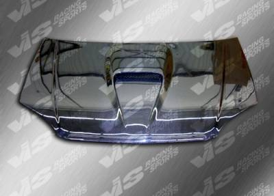 Accord 2Dr - Hoods - VIS Racing - Honda Accord VIS Racing G Force Black Carbon Fiber Hood - 94HDACC2DGF-010C