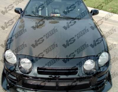 Celica - Hoods - VIS Racing - Toyota Celica VIS Racing OEM Black Carbon Fiber Hood - 94TYCEL2DOE-010C
