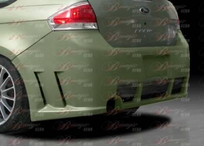 Focus Wagon - Rear Bumper - AIT Racing - Ford Focus BMagic Max Series Rear Bumper - FF08BMMAXRB