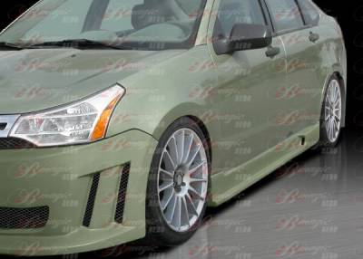 Focus ZX5 - Side Skirts - AIT Racing - Ford Focus AIT Racing Max Style Side Skirts - FF08BMMAXSS4