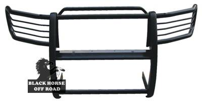 Grilles - Grille Guard - Black Horse - Ford F250 Black Horse Push Bar Guard