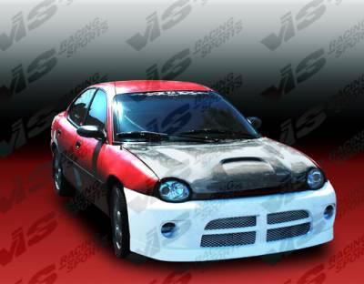 Neon 2Dr - Hoods - VIS Racing - Dodge Neon VIS Racing SRT Black Carbon Fiber Hood - 95DGNEO2DSRT-010C