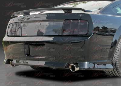 Mustang - Rear Bumper - AIT Racing - Ford Mustang AIT Racing Stallion Style B-Magic Rear Bumper - FM05BMSTLRB