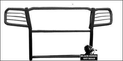 Grilles - Grille Guard - Black Horse - Nissan Frontier Black Horse Push Bar Guard