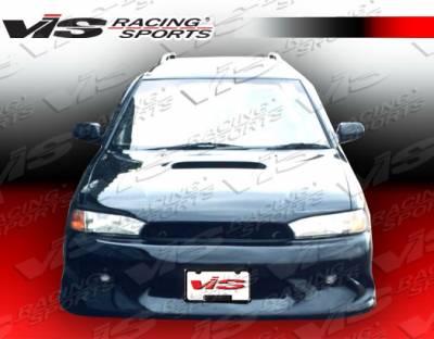 Legacy - Hoods - VIS Racing. - Subaru Legacy VIS Racing OEM Black Carbon Fiber Hood - 95SBLEG4DOE-010C
